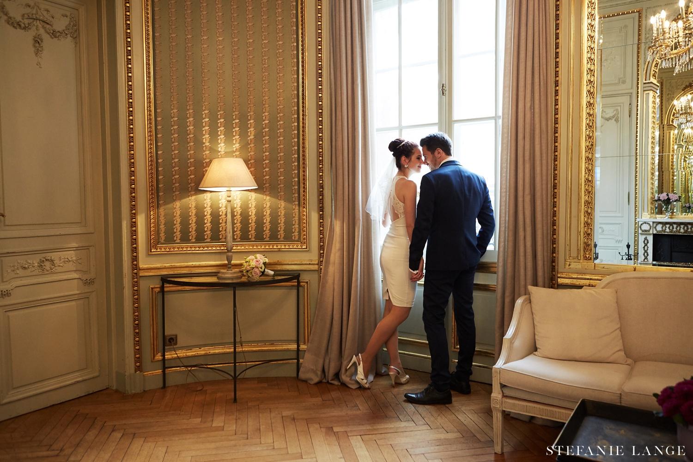Brautpaar im Patrick Hellmann Schlosshotel Grunewald Berlin
