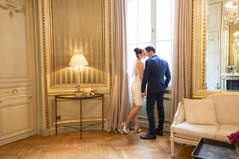 Hochzeit im Patrick Hellmann Schlosshotel Grunewald Berlin - Brautpaar