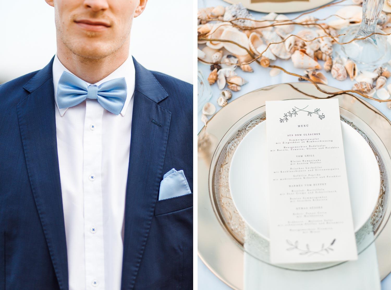 Boho Strand Hochzeit Inspiration mit Achat Scheiben: Portraits des Bräutigams - Stefanie Lange Hochzeitsfotografie