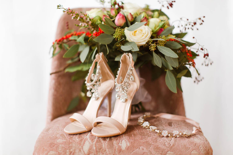 Stefanie Lange Hochzeitsfotograf Christmas Boudoir Shooting in Berlin 2018 - Schuhe