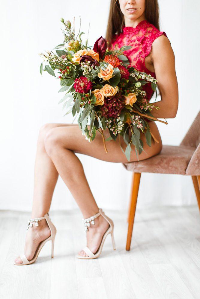 Stefanie Lange Hochzeit Fotograf Braut Bridal Boudoir Shooting in Berlin 2018 - Christmas Edition