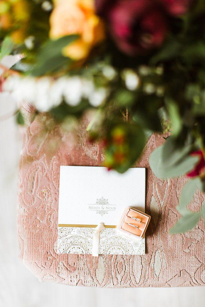 Stefanie Lange Hochzeit Fotograf - Braut Bridal Boudoir Shooting in Berlin  - Christmas Edition - Papeterie Detail