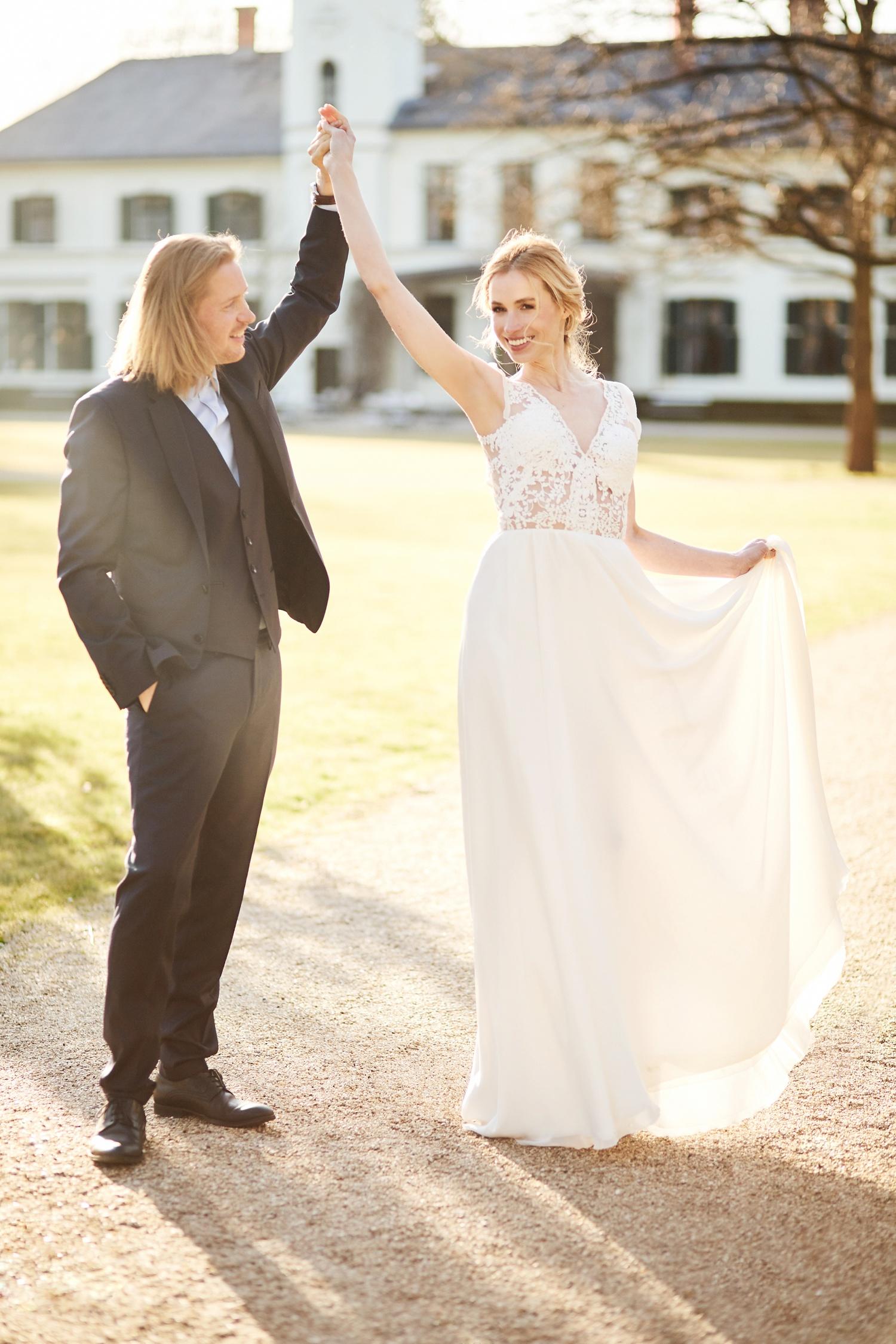 Stefanie Lange Hochzeitsfotografie: Styled Shoot mit Iris & Oliver Schloss Gutshof Britz Berlin 2018