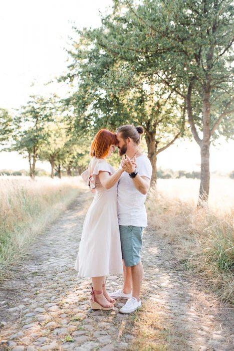 Thomas & Luisa - Verlobungsshooting in Berlin Spandau - Stefanie Lange Hochzeitsfotografin