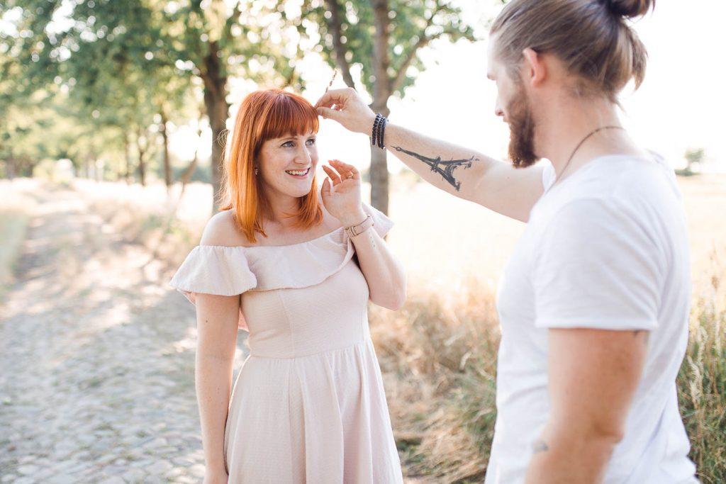 Thomas & Luisa - Verlobungsfotos in Berlin Spandau - Stefanie Lange Hochzeitsfotografin