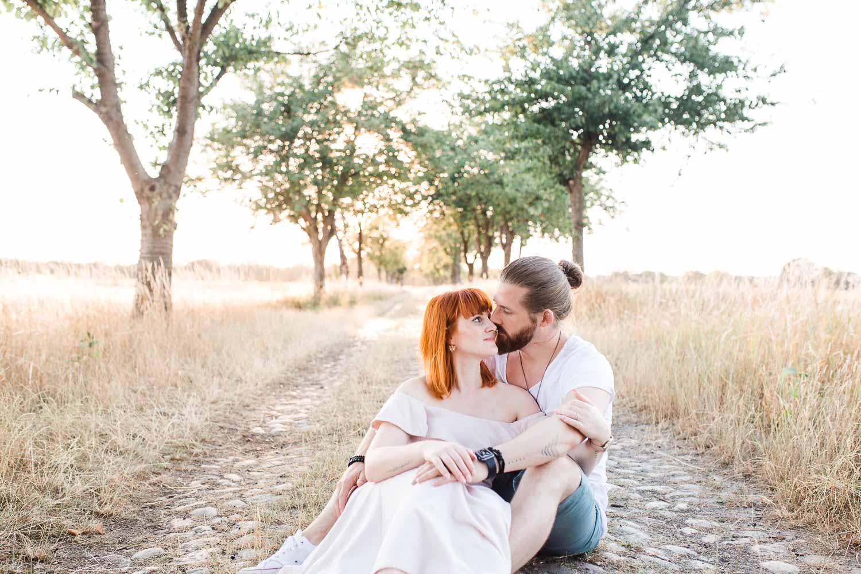 Thomas & Luisa - Paarshooting & Verlobungsshooting in Berlin Spandau - Stefanie Lange Hochzeitsfotografin