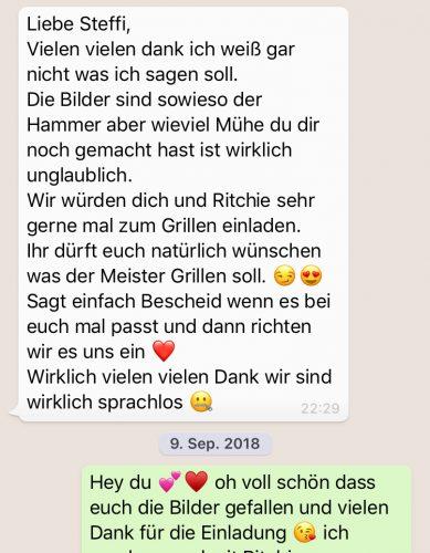 Feedback After Wedding Shoot Berlin