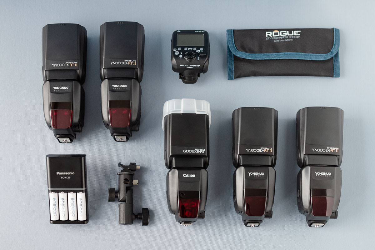Fotoausrüstung - Blitzequipment für professionelle Hochzeitsfotografen