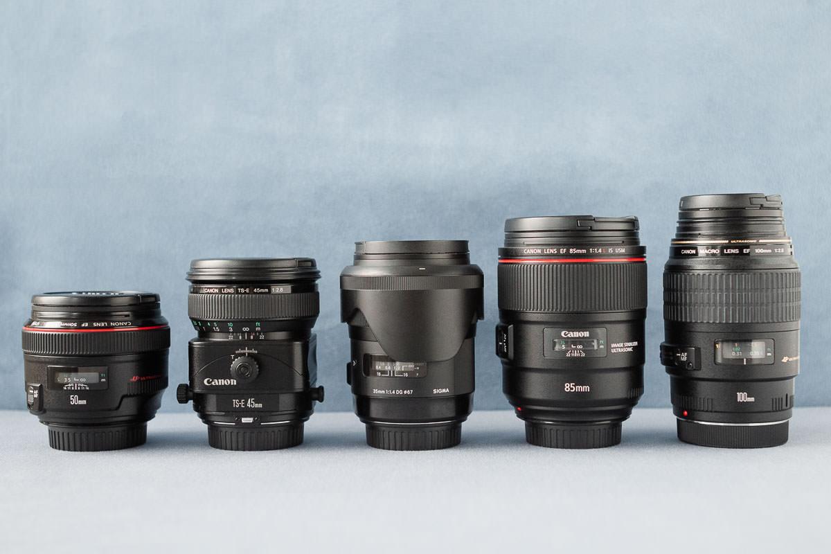 Meine Fotoausrüstung - Objektive für hochwertige Hochzeitsfotografie