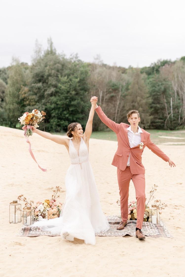 Besondere Hochzeit zu Zweit