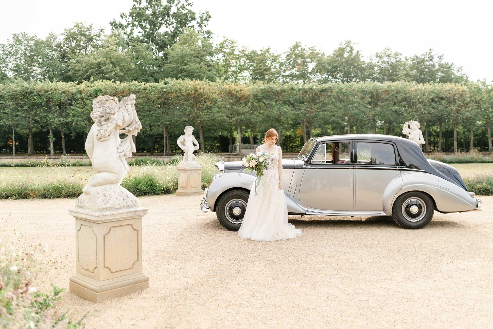 Fine Art Hochzeit Oldtimer Bentley