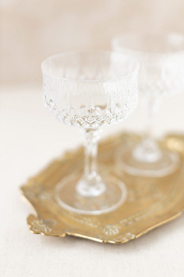 Champagnergläser Kristall - 2-teilig