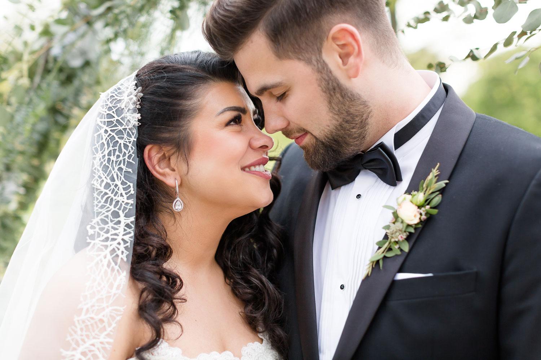 Brautpaarshooting im Schloss Ulrichshusen von Berliner Hochzeitsfotografin Stefanie Lange
