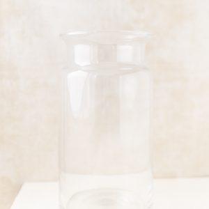 Glasbehälter groß, schmal