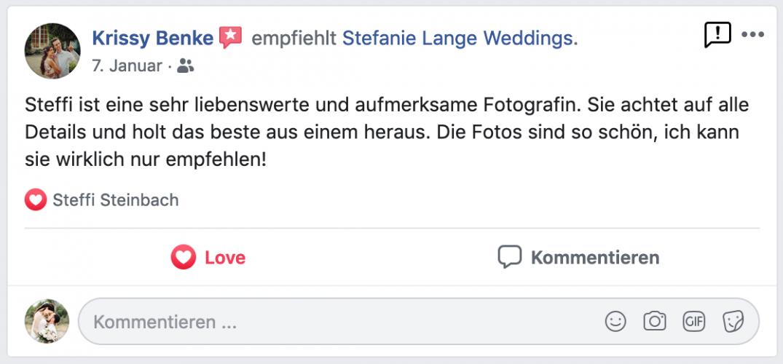 Feedback Fotograf Berlin