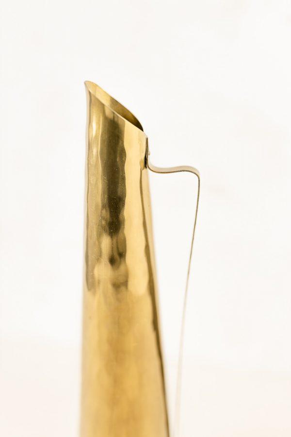 schmale Vasen Set - 2-teilig, gold