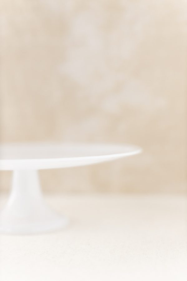 "Tortenständer ""Marmoroptik"" - milchglas"