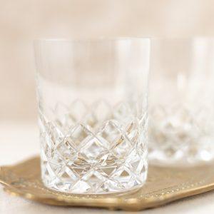 Whiskey Kristallgläser - 2-teilig